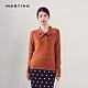 【MASTINA】舒適綁結領-針織衫(四色) product thumbnail 1