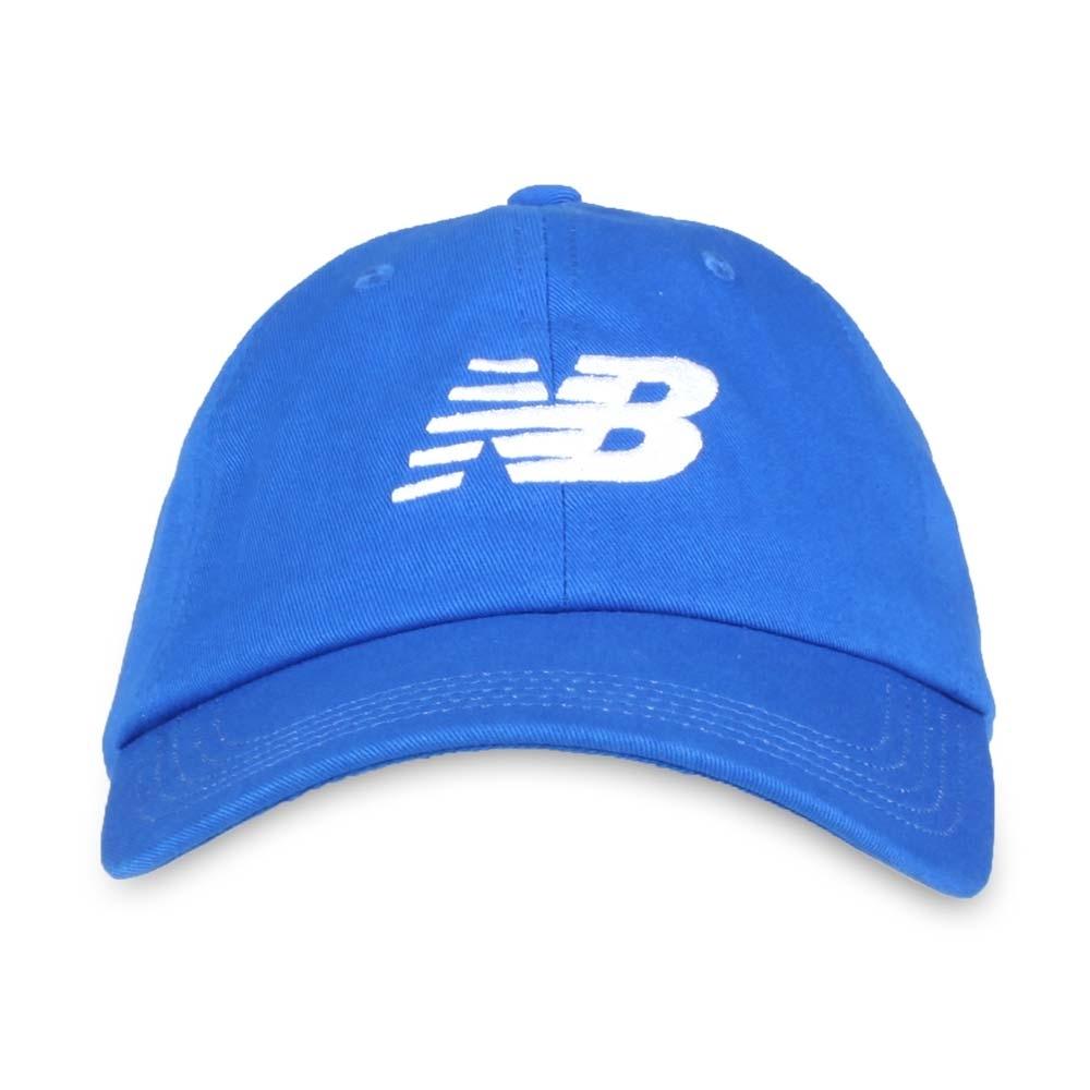 NEWBALANCE 棒球帽 藍白
