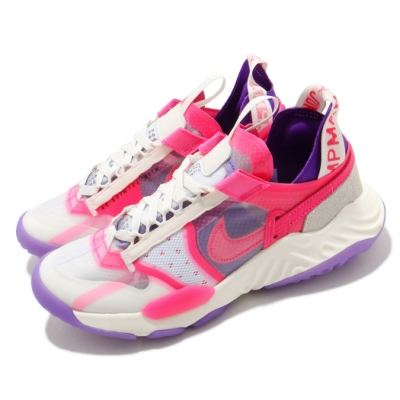 Nike 休閒鞋 Delta Breathe 運動 女鞋 喬丹 舒適 避震 透氣 簡約 球鞋 穿搭 白 粉 CZ4778101