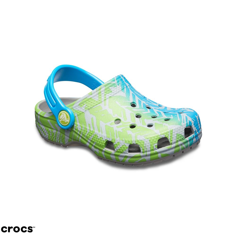 Crocs卡駱馳 (童鞋) 經典圖案小克駱格 204816-007