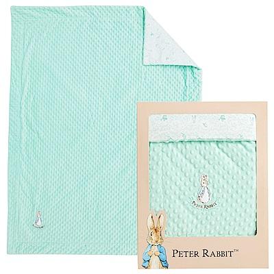 奇哥 比得兔豆趣二用蓋毯禮盒-綠色