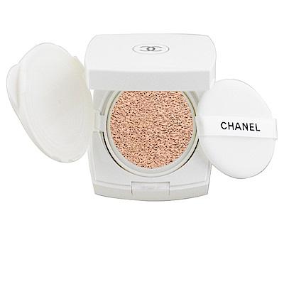 CHANEL香奈兒 珍珠柔光美白防曬氣墊粉餅 11g 色號 N20