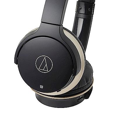 【第二件半價】鐵三角ATH-AR3BT 藍牙無線耳罩式耳機-黑色