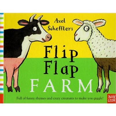 Flip Flap Farm 農場動物大合體精裝翻頁書(美國版)