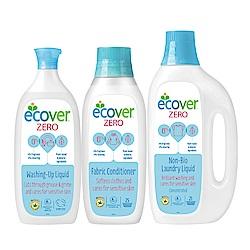 ECOVER宜珂無添加親膚低敏系列3件組
