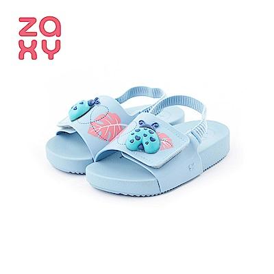 ZAXY GARDEN瓢蟲造型涼鞋(寶寶款)-藍