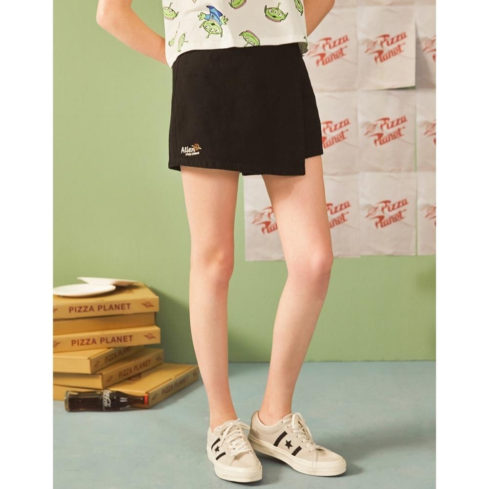 CACO-三眼怪高腰褲裙(二色)-親子款-女【B2DI016】