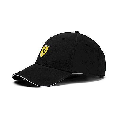 PUMA-男女Ferrari Lifestyle系列棒球帽-黑色
