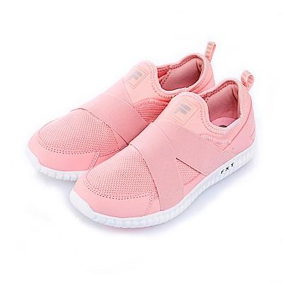 FILA女健走鞋-粉 5-F511S-551
