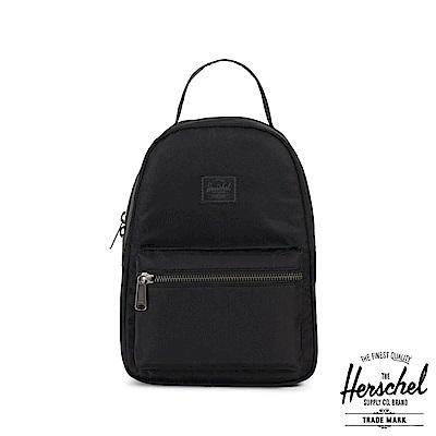 Herschel Nova Mini 後背包-黑色尼龍布