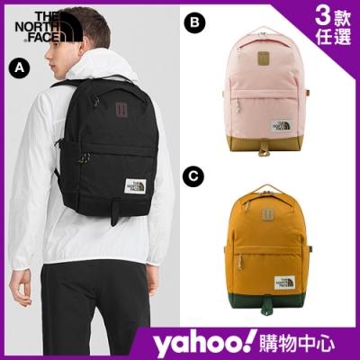 【The North Face】YAHOO 限時優惠-北面春夏防護休閒後背包(3款任選)
