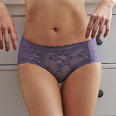 蕾黛絲-安全好感 無鋼圈靠過來搭配平口內褲 M-EL 黔綣紫
