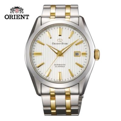 ORIENT STAR 東方之星Mechanical Contemporary 系列機械錶 鋼帶款 間金 白色面 SDV02001W  - 41.0mm