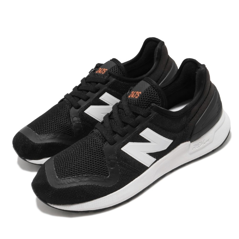 New Balance 休閒鞋 YH247SA3 W 寬楦 運動 童鞋 紐巴倫 基本款 簡約 中大童 穿搭 黑 白 YH247SA3W