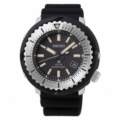 SEIKO 精工PROSPEX小鮪魚太陽能潛水腕錶SNE541P1