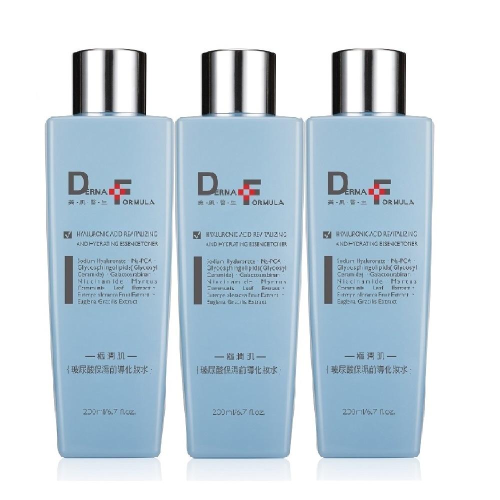 DF美肌醫生 玻尿酸保濕前導化妝水200ml 3入組 @ Y!購物