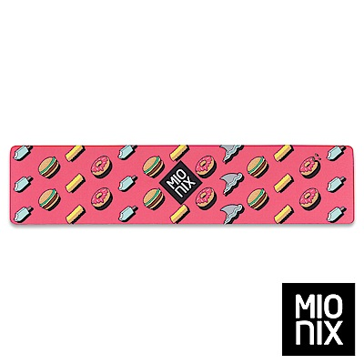 【MIONIX】 Long Pad Frosting 多功能腕墊滑鼠長墊((糖霜紅)