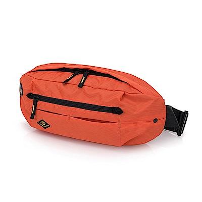 FREEKNIGHT  FK0816OG時尚腰包.胸包.側背包橘色