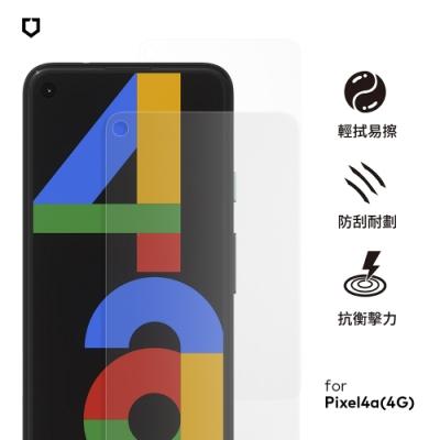 犀牛盾非滿版耐衝擊手機保護貼-Google Pixel 4a(4G)-正面