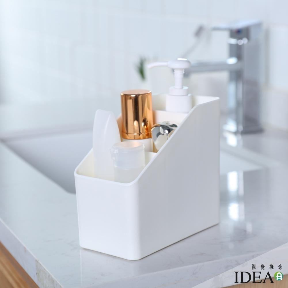 IDEA-簡約風三格桌面收納盒