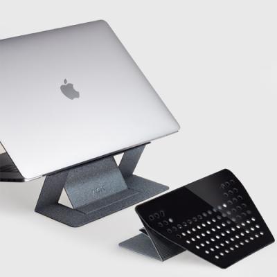 美國 MOFT | 隱形筆電支架 2020全新升級 黏貼散熱孔款 11-15吋筆電適用