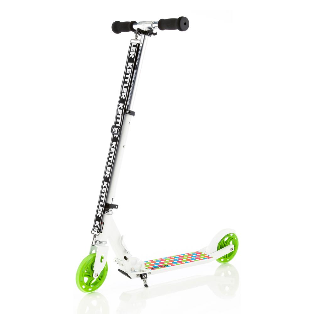 【德國KETTLER】Zero 6 時尚親子滑板車-彩色泡泡