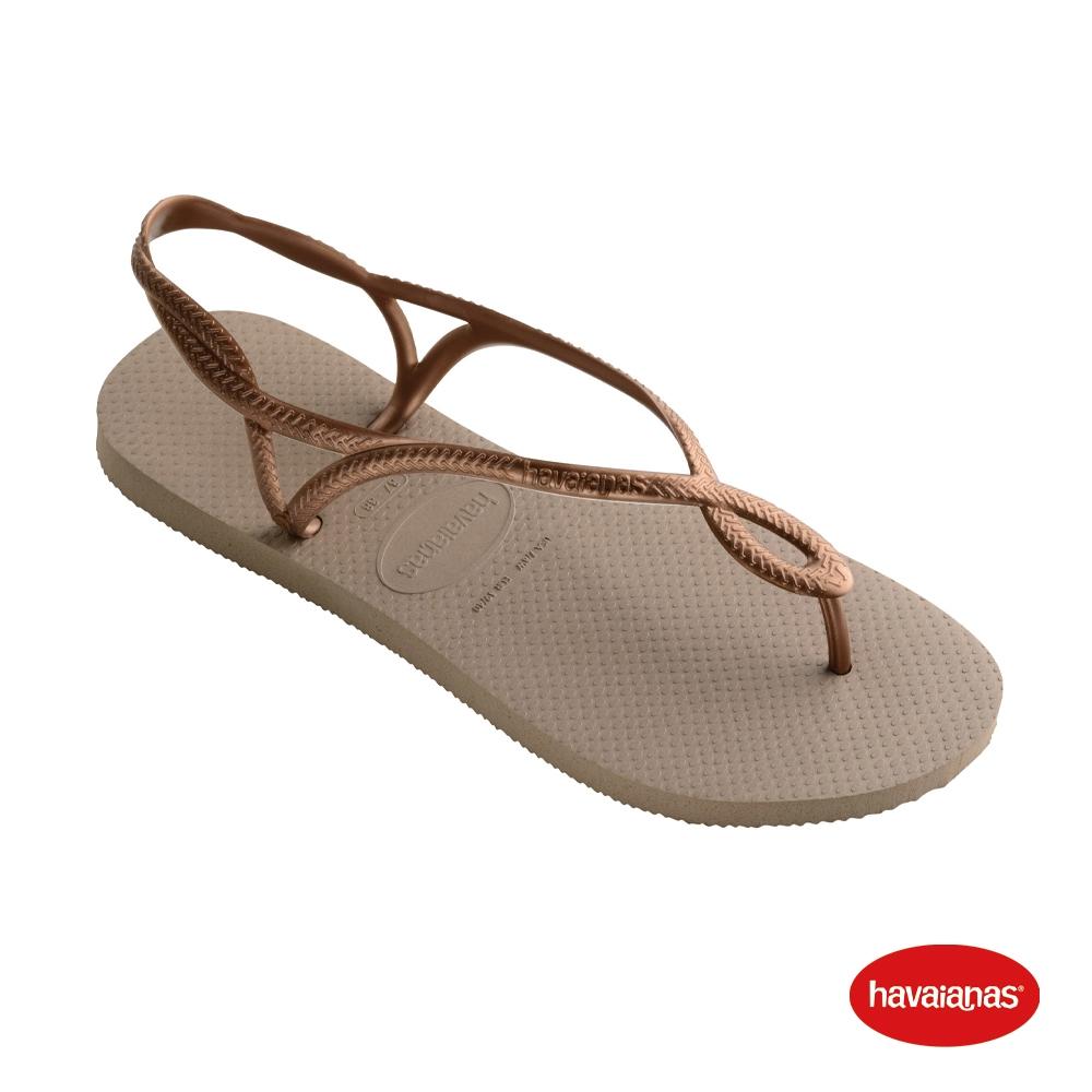 Havaianas哈瓦仕 拖鞋 涼鞋 巴西 女鞋 玫瑰金 4129697-5282W Luna