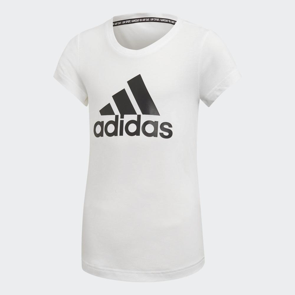 adidas LOGO 短袖上衣 女童 ED4604