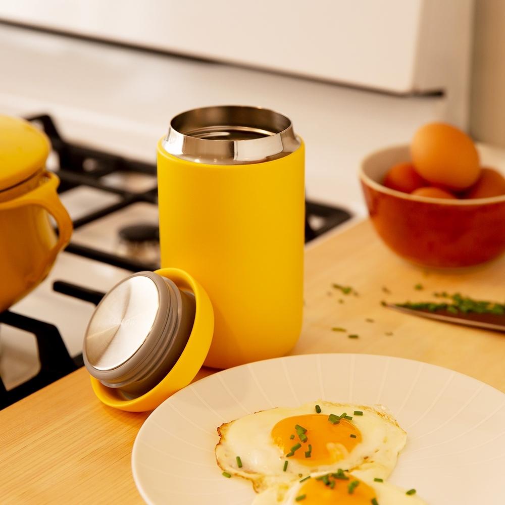 FELLOW Carter卡特陶瓷咖啡真空保溫瓶16oz-檸草黃