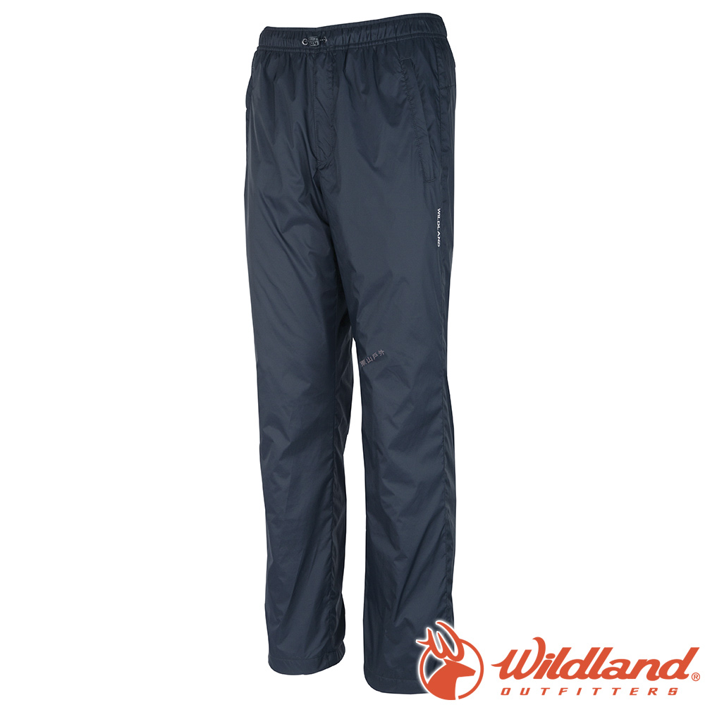 Wildlan荒野 W2326-49深灰藍 中性 防風防潑水保暖長褲