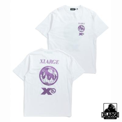 XLARGE S/S TEE MOMENT短袖T恤-白
