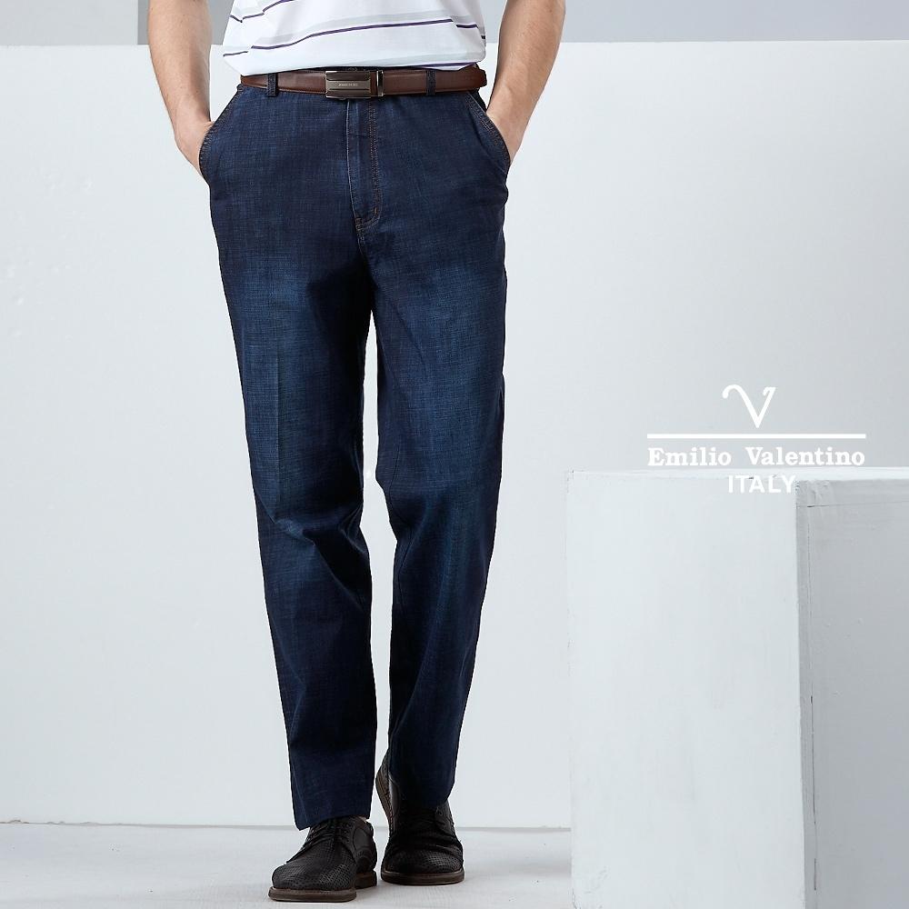 Emilio Valentino都會休閒牛仔褲_藍(30-9A2502)