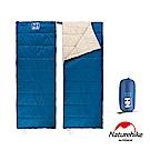 Naturehike H150春夏款輕薄透氣便攜式信封睡袋 深藍-急
