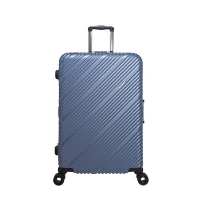 【OUTDOOR】SKYLINE FRAME-28吋旅行箱-藍金銀點紋 OD9077A28LB