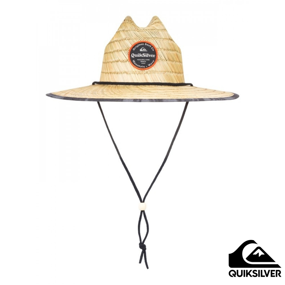 【QUIKSILVER】OUTSIDER REPENT 戶外運動帽 黑