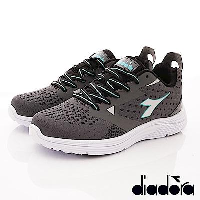 DIADORA-針織緩震時尚跑鞋款 SI868灰(女段)