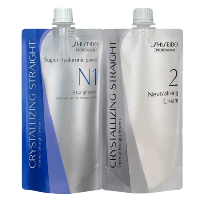 SHISEIDO資生堂 法倈麗公司貨 新水質感II燙髮劑第一劑N+二劑(霜狀)400G*2