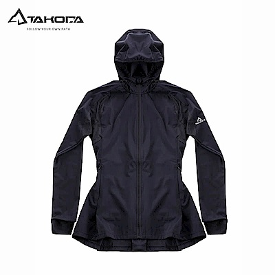 TAKODA 三防透氣超彈力網球裙連帽機能外套