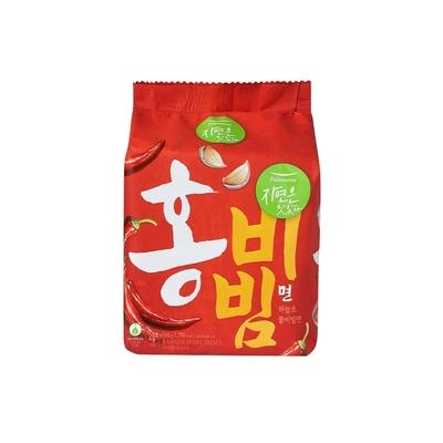【韓味不二】pulmuone 正白紅系列拌麵 - 乾拌麵(紅) 香辣拌麵 (4入/袋)