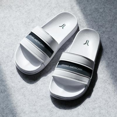 時時樂 Y.A.S 撞色防水拖鞋-4色