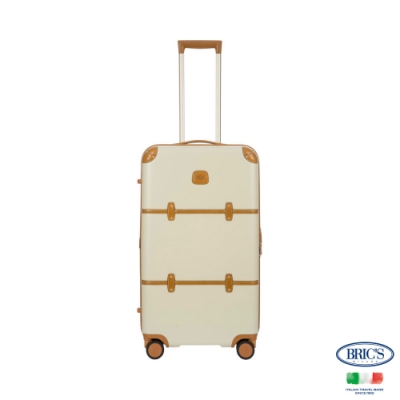 BRICS 義大利經典款 Bellagio Trunk 29吋 米白 拉鍊拉桿箱 行李箱 胖胖箱