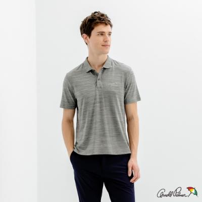 Arnold Palmer -男裝-機能排汗POLO衫-灰色