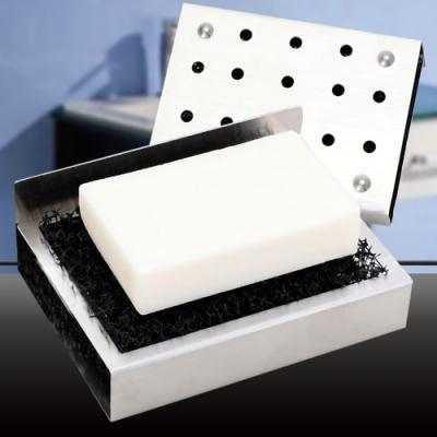 (團購2入)EZlife 304不銹鋼香皂瀝水架