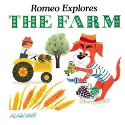Romeo Explores The Farm 羅密歐遊農場 硬頁繪本
