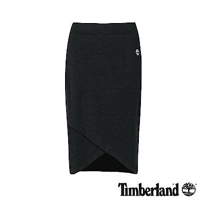 Timberland 女款黑色編織款裹裙|B3306