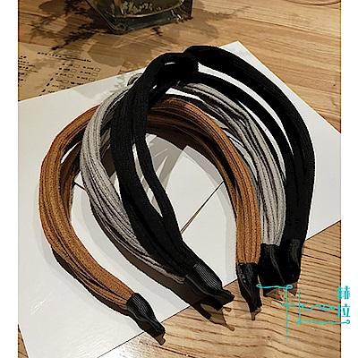 Hera 赫拉  時尚布藝交叉 蝴蝶結雪紡頭飾髮箍