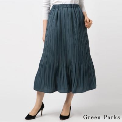 Green Parks 優雅長版百褶裙