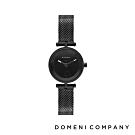 DOMENI COMPANY 星空錶盤系列 經典米蘭錶帶 黑錶框 -黑/22mm