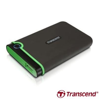 創見 StoreJet 25M3 2.5吋 1TB USB3.1 Gen1 行動硬碟(灰)