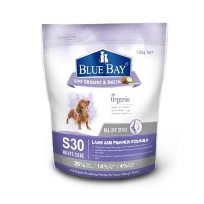 【BLUE BAY】S30倍力-關節保健低敏配方-羊肉+南瓜 3.3lb/1.5kg